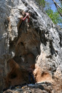The Incinerator 7a, The Furnace, Crazy Horse Buttress, Chiang Mai, Thailand